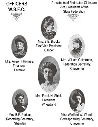 General Federation of Women's Clubs of Wyoming history